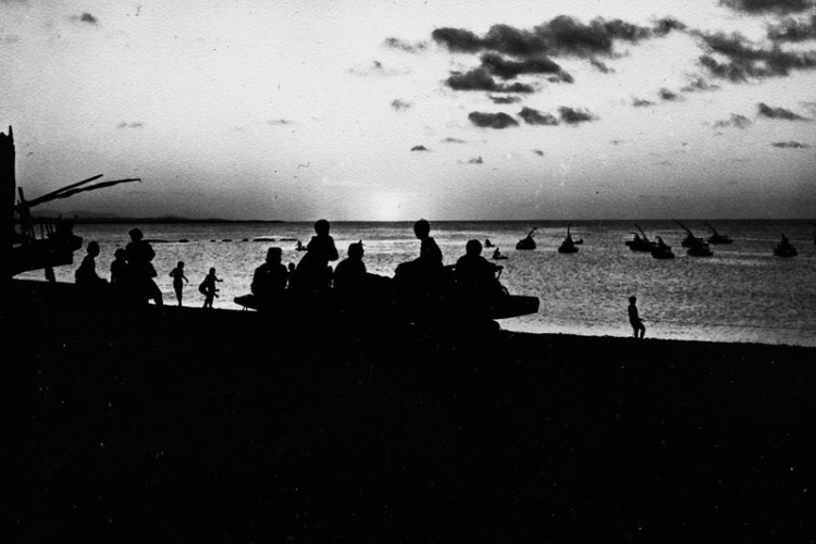 Sunset_Recife_BW