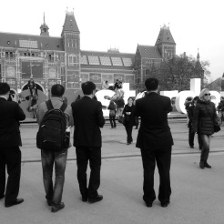 And more tourists at Rijksmuseum - Iphone 5