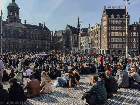 Royal Palace and Dam Square