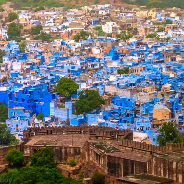 Blue in India