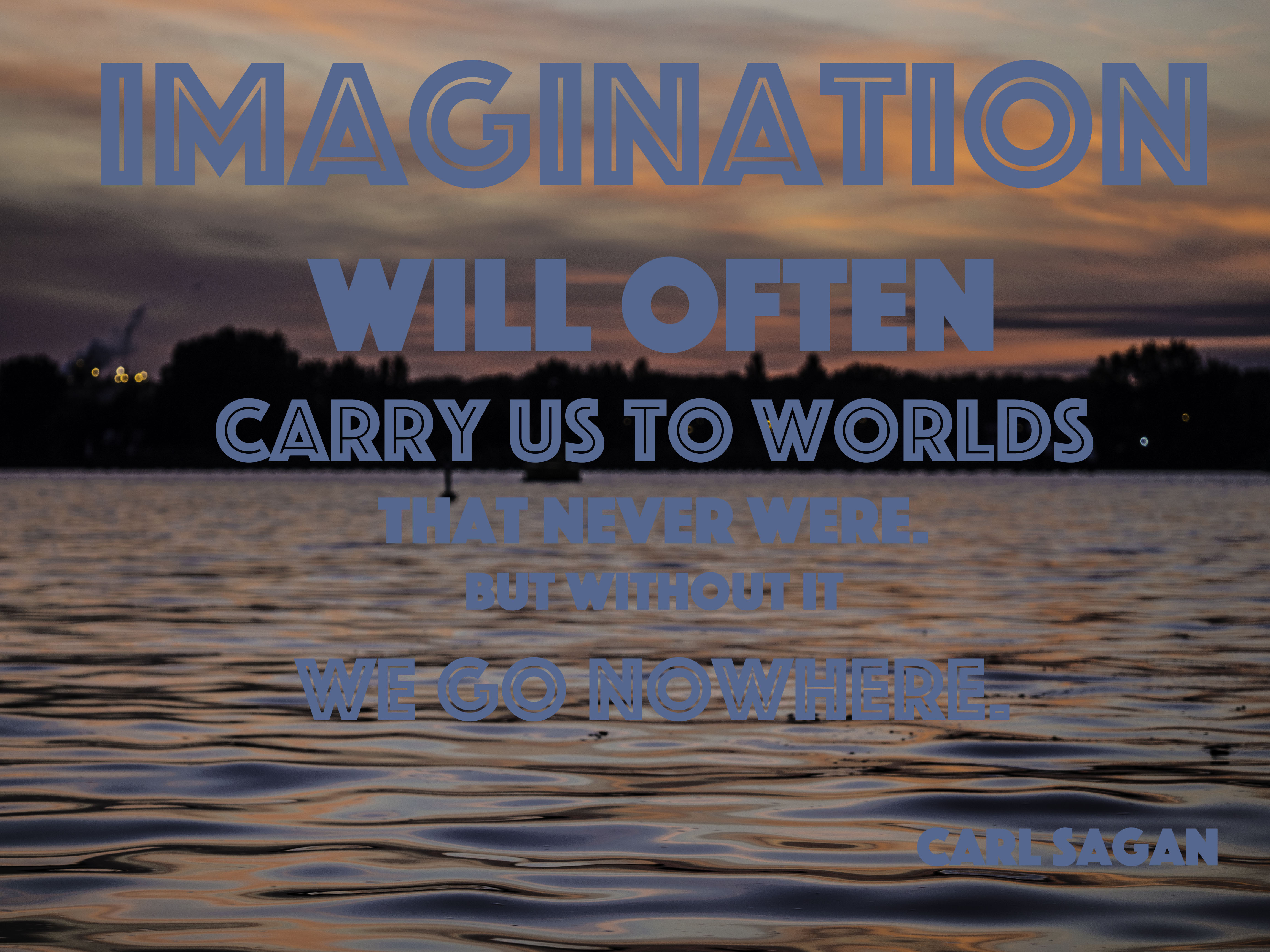 Writer's Quote Wednesday: Imagination