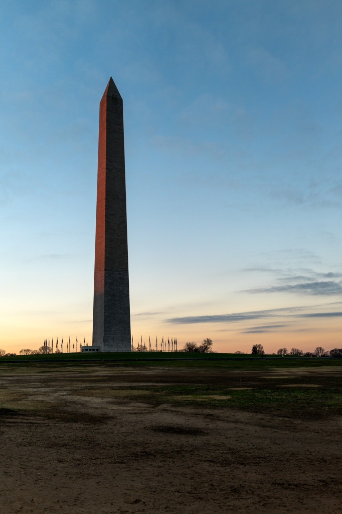 The Washington Monument just before sunrise -- Washington, DC (December 2015) Sony RX1R II + Zeiss 2.0/35mm